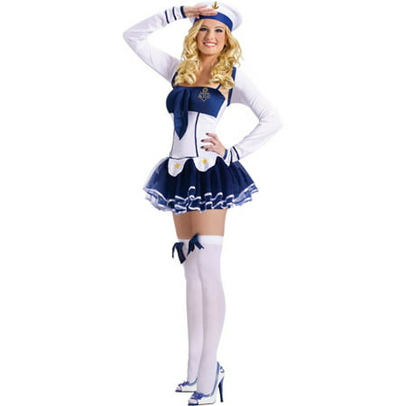 High Seas Hottie Adult Halloween Costume (Sea Monkey Halloween Costume)