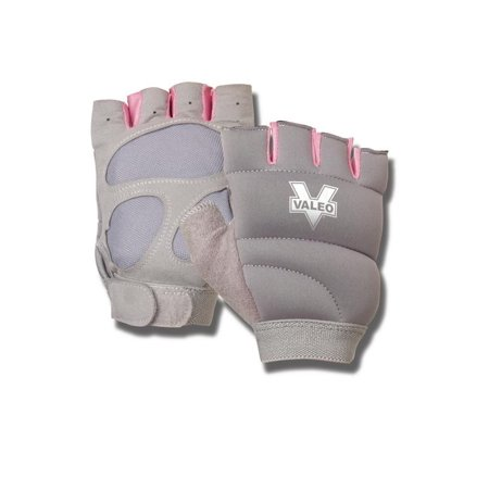 Valeo Weighted Power Gloves 1 lb. Each Women's Fitness Gloves for Kickboxing, Cardio, Workout (2 lb. pair)