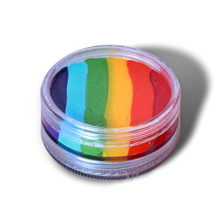 Wolfe FX Face Paints - Rainbow Essentials Split Cake (45 gm) (Face Paints Wolfe Brothers)