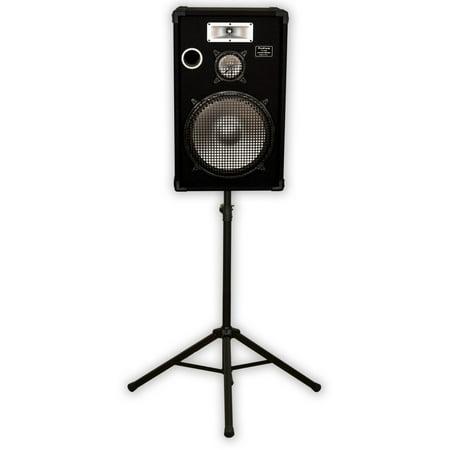 Podium Pro E1525 Deluxe Passive 15″ Speaker and Stand 700W DJ PA Karaoke E15251SET1