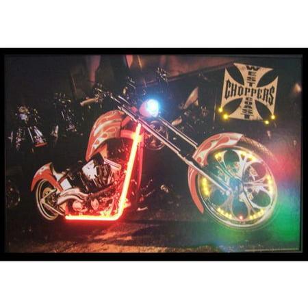 Neonetics Cars & Motorcycles West Coast Choppers Bike Neon