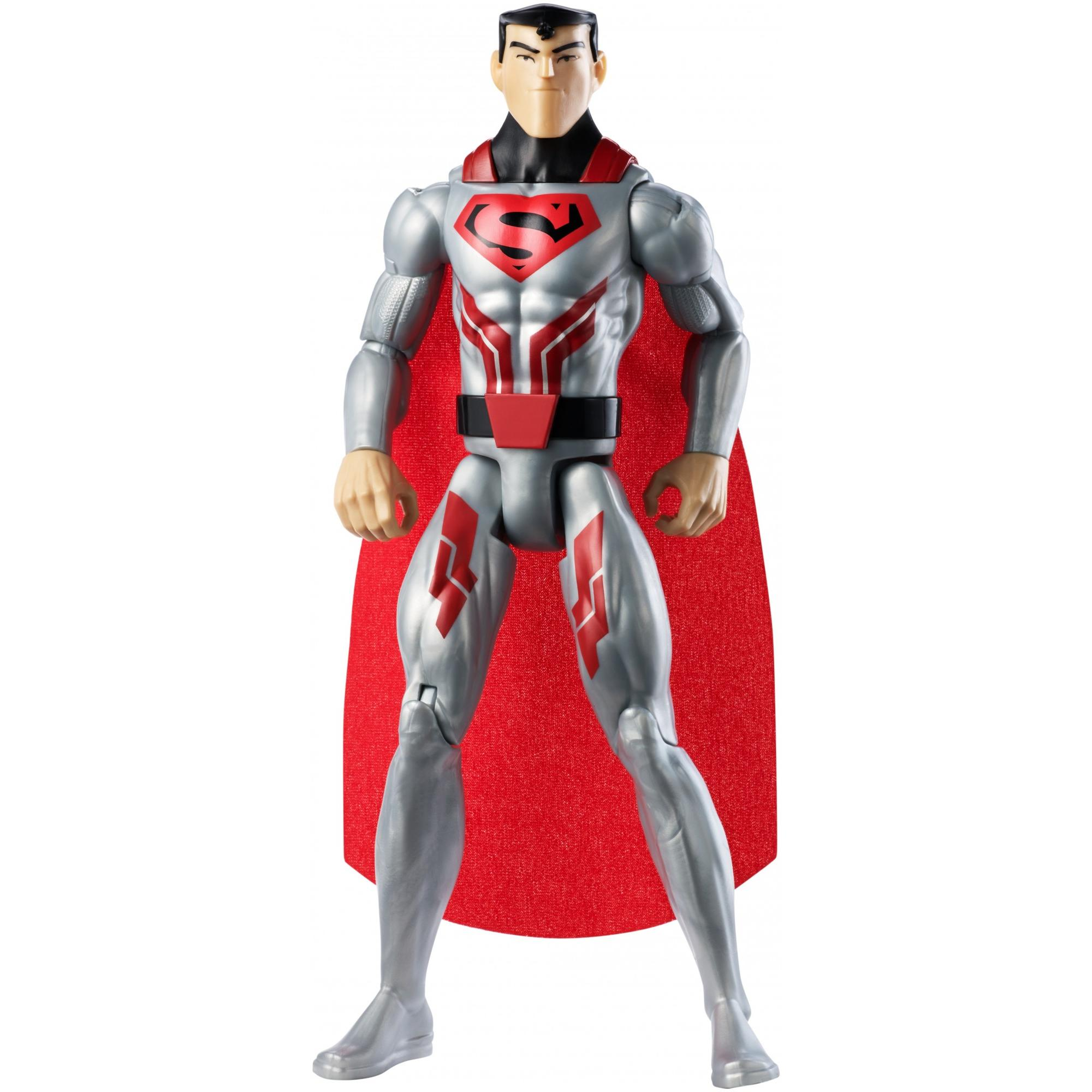 Justice League Action Steel Suit Superman Figure
