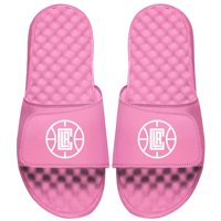LA Clippers ISlide Youth Primary Logo Slide Sandals - Pink