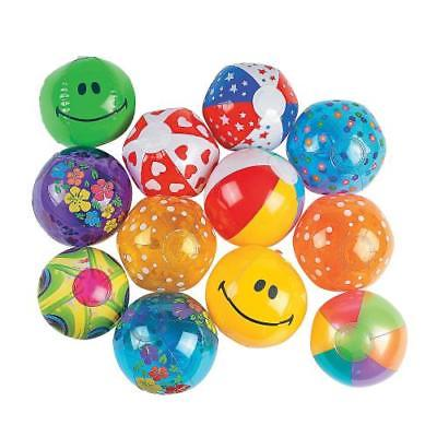 IN-49/95 Inflatable Mini Beach Ball Assortment - 25 pcs. 25 Piece(s)