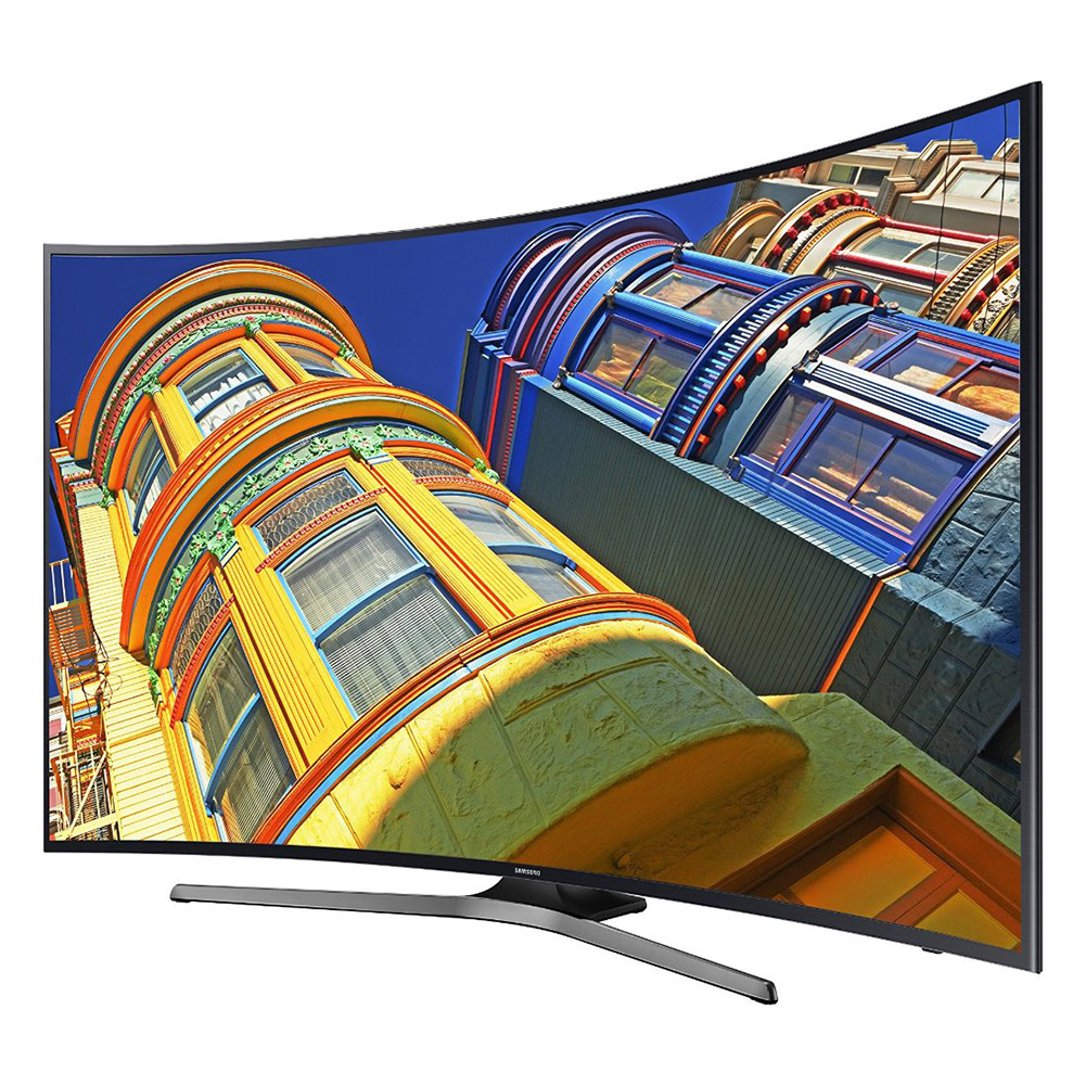 "Samsung UN49KU6500F - 49"" Class (48.5"" viewable) - KU6500 Series curved LED TV - Smart TV - 4K UHD (2160p) - local dimming, UHD dimming - dark titan"