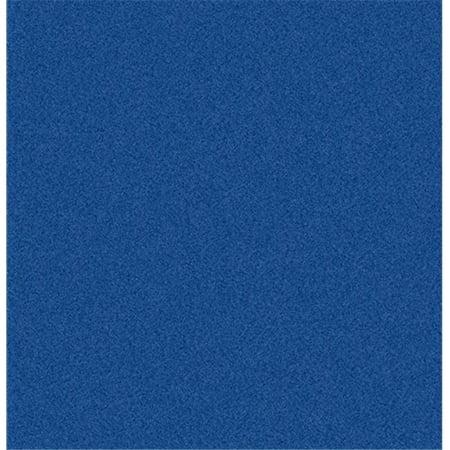 Joy Carpets 80P-06 Endurance Royal Blue 6 ft. x 6 ft. 100 Pct. Polyester Machine Tufted- Cut Pile Simply Solids Rug