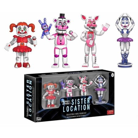 Funko 2   Action Figure  Five Nights At Freddys   Sister Location 4 Pack Set 1