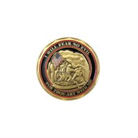 Marines Psalm 23 US Armed Forces Double Sided Collectible Challenge Coin