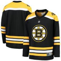 Boston Bruins Fanatics Branded Youth Home Replica Blank Jersey - Black