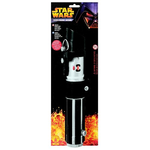 Rubies Star Wars Darth Vader Lightsaber Accessory- []