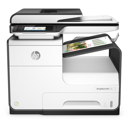 HP PageWide Pro 477dn Page Wide Array Multifunction Printer - Color - Plain Paper Print -