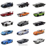 Fast & Furious 1:24 Die-cast Play Vehicles- Styles May Vary