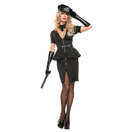 Women's Elegant Cop Costume - image 2 de 2