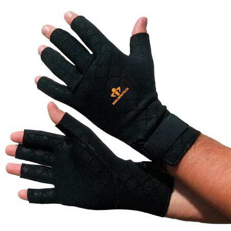 Anti Vibration Gloves - IMPACTO TS199M Anti-Vibration Gloves,M,Black,PR
