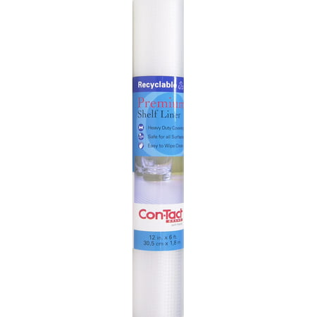 Woven Adhesive (Con-Tact Brand Non-Adhesive Premium Shelf Liner, Woven Clear )