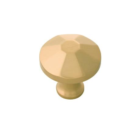 Belwith Keeler B053134 Facette 1 3 8 Mushroom Cabinet Knob