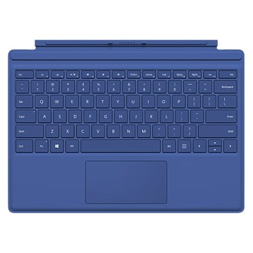 Microsoft Surface Pro 4 Type Cover Keyboard - Blue