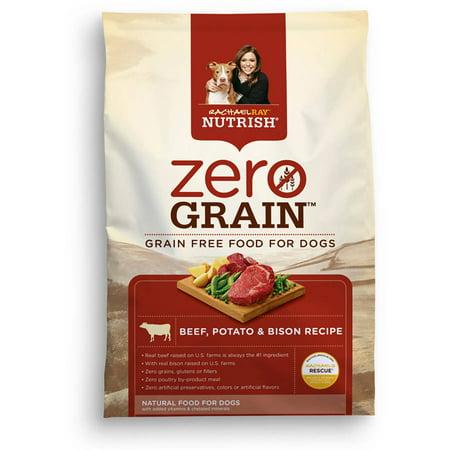 Rachael Ray Nutrish Zero Grain Natural Dry Dog Food Review