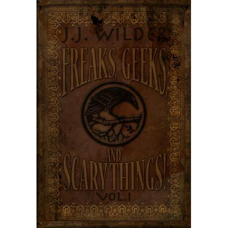 Freaks, Geeks, and Scary Things Vol. 1 - eBook - Scary Thongs