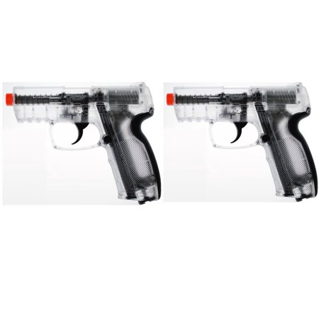 Lot of 2 - New Red Jacket CO2 Powered Airsoft Battle Pistol Gun 375 (Best Red Dot For Ar 15 Pistol)