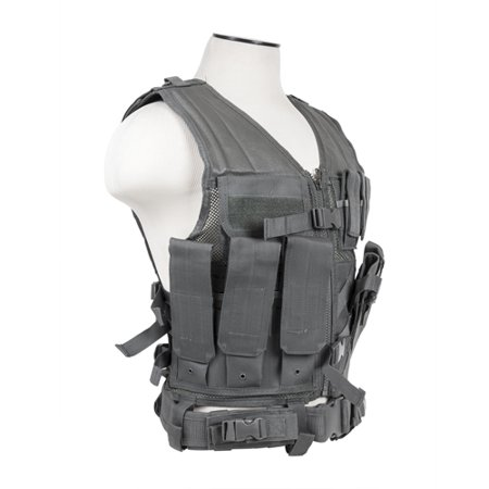 Vism By Ncstar Tactical Vest Urbgr M Xl