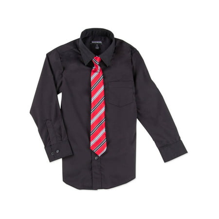 George Boys Packaged Dress Shirt-Tie - Boys Kids Dress