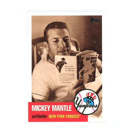 2007 Topps Chrome Mickey Mantle - 2007 Topps Mickey Mantle Story #MMS22 Yankees Grand Slam Card