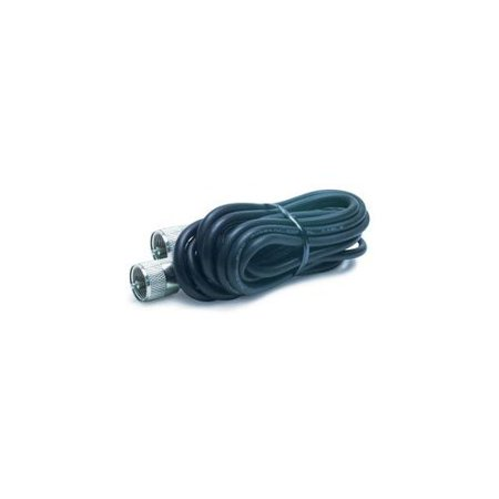 18' RG-58/U Coaxial Cable With Pl-259 Connectors Multi-Colored