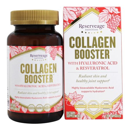 Reserveage Nutrition - Collagen Booster - 120 Capsules