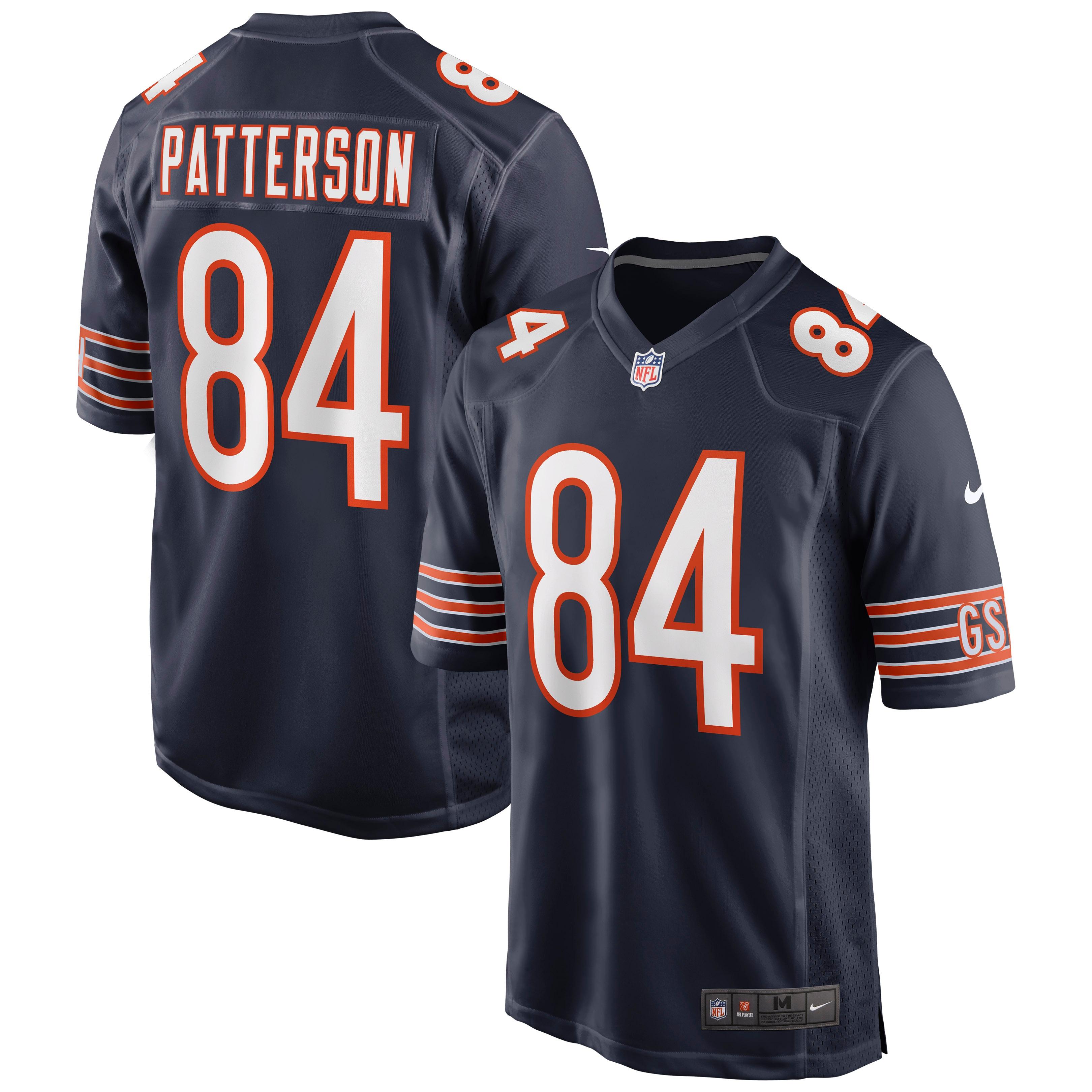 Cordarrelle Patterson Chicago Bears Nike Game Jersey - Navy - Walmart.com