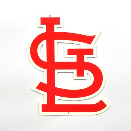 "St. Louis Cardinals ""STL"" 12"" Steel Sign - No Size"
