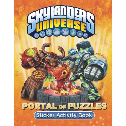 Portal of Puzzles Sticker Activity Book