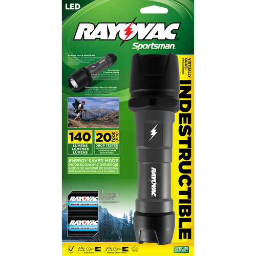Rayovac Indestructible 2D LED Flashlight