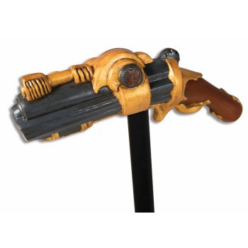 Steampunk Pistol Cane Halloween Costume Accessory - Girls Steampunk Costume