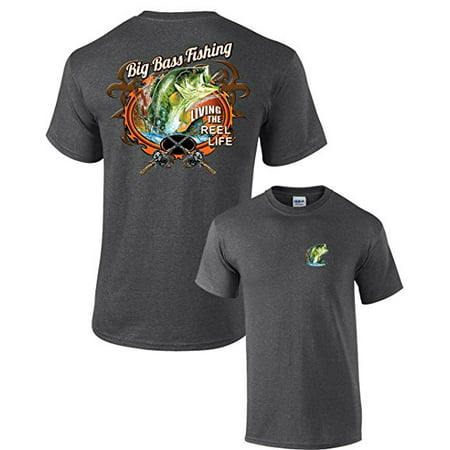 Fishing T-shirt Big Bass Fishing