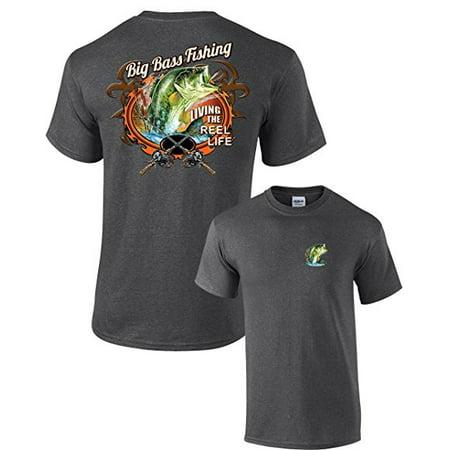 Fishing T-shirt Big Bass Fishing