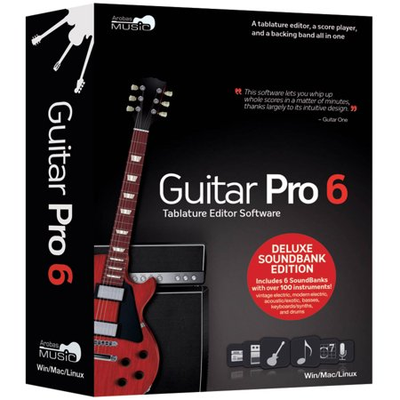 Arobas Music Ip04105 Guitar Pro 6.0 Deluxe Soundbank Edition