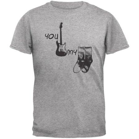 You Rock My Socks Light Heather Grey Adult T Shirt