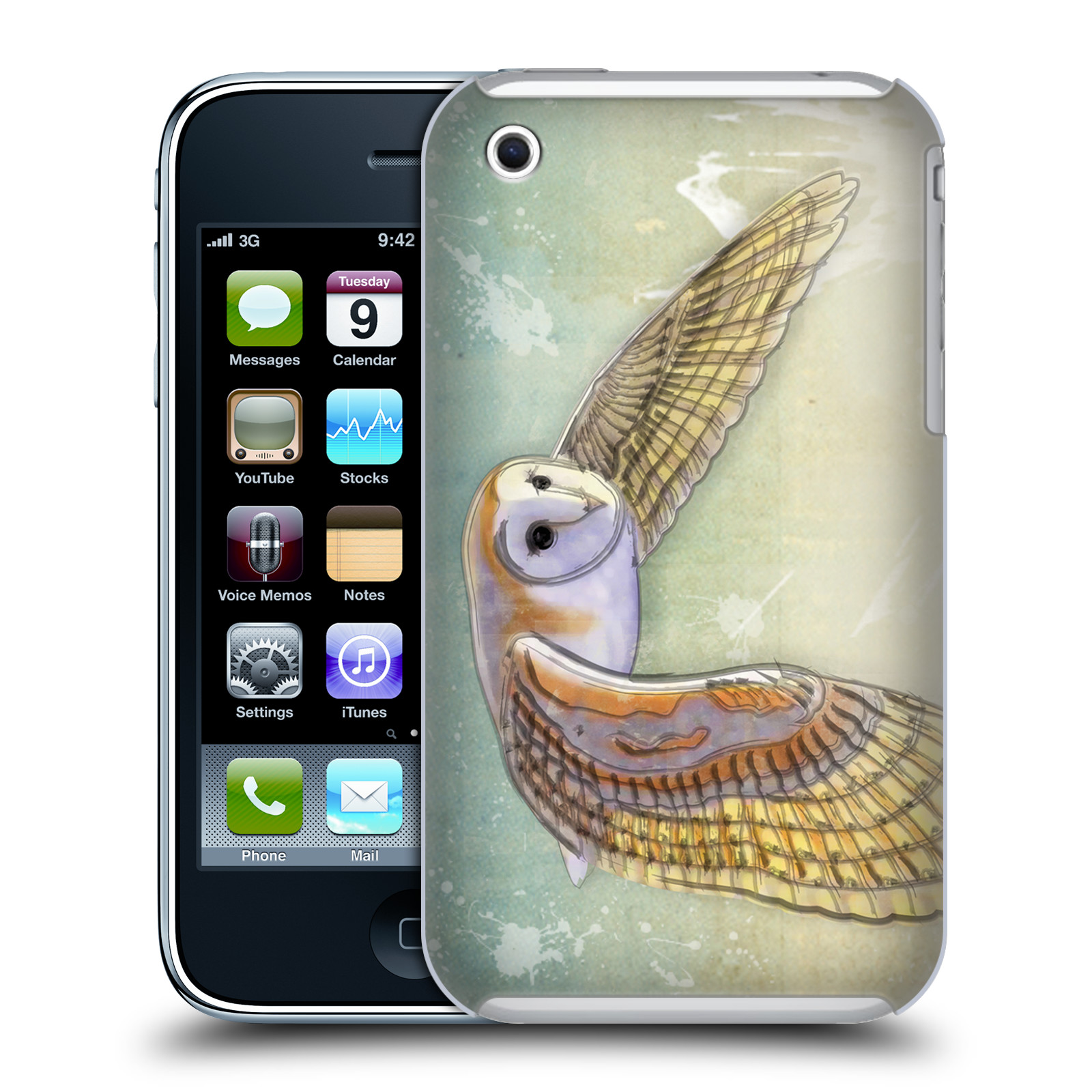 OFFICIAL VIN ZZEP BIRDS HARD BACK CASE FOR APPLE IPHONE PHONES