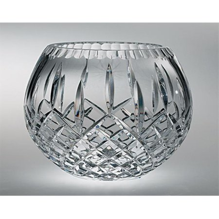 Majestic Hand Cut Crystal Rose Bowl, 12-Inch, Plaza ()