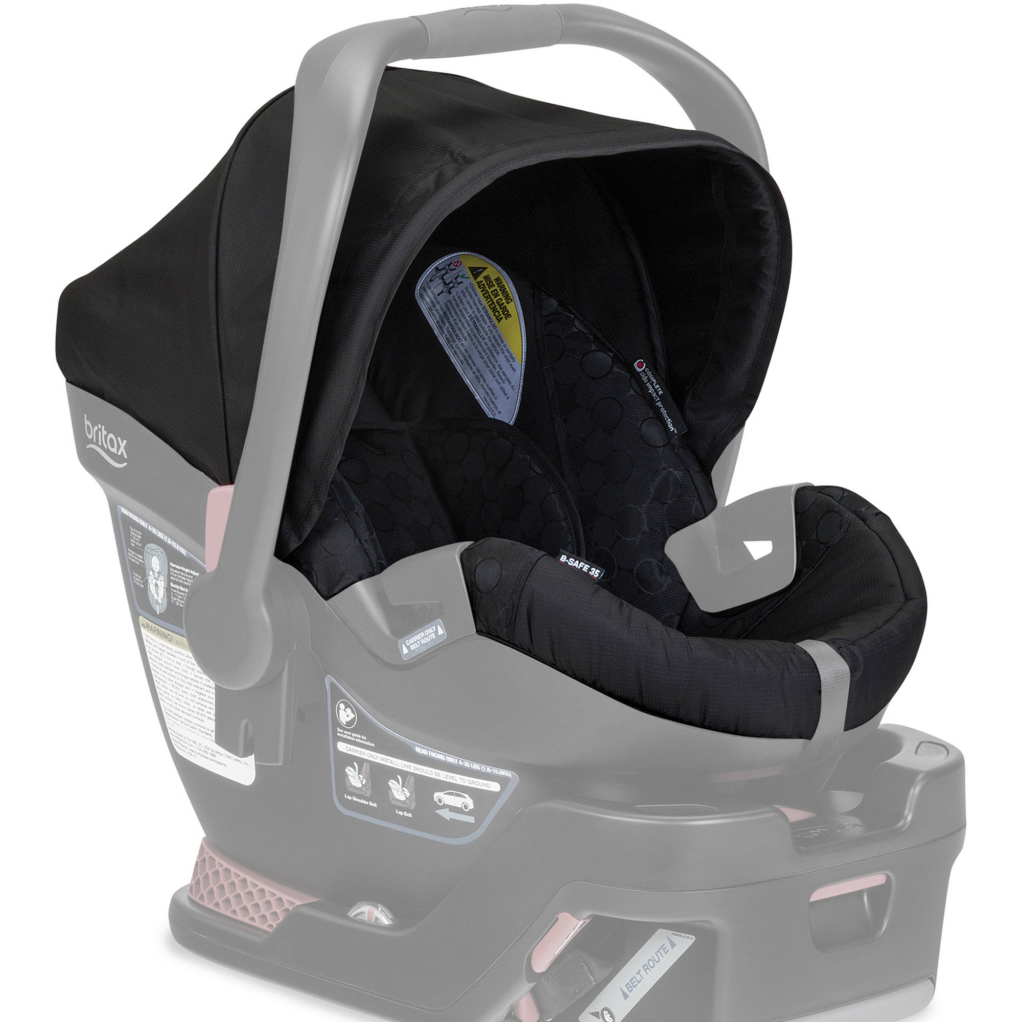 Britax Car Seat Cover Set, B-Safe 35 Infant Car Seat, Black
