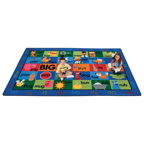 Carpets for Kids Printed Rhyme Time Area Rug