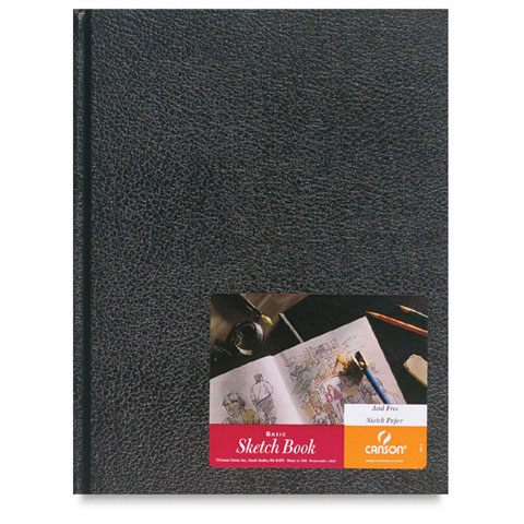 Black Sketch Book: Hardcover