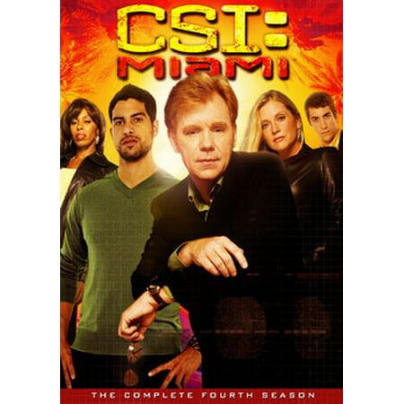 CSI: Miami - The Complete Fourth Season (DVD)