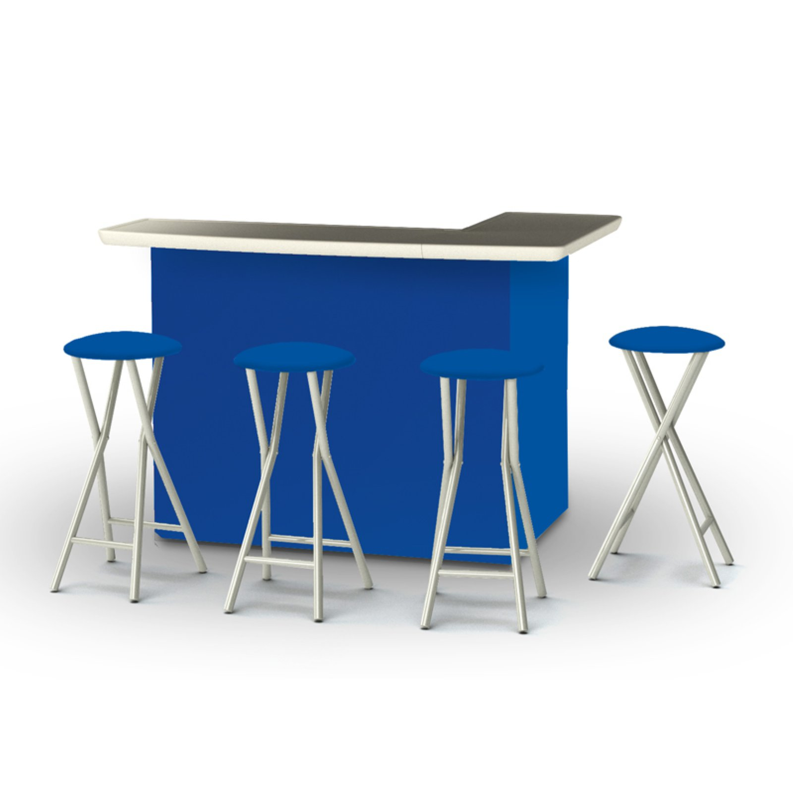 Royal Cave Best of Times Solid Patio Bar and Tailgating C...