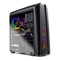 SkyTech Shadow II Gaming Computer PC Desktop  Ryzen 7 2700 8-Core 3.2 GHz, NVIDIA GeForce RTX 2060 6G, 500G SSD, 16GB DDR4, RGB, AC WiFi, Windows 10 Home 64-bit ST-Shadow-II-2700-2060-16G3-500G