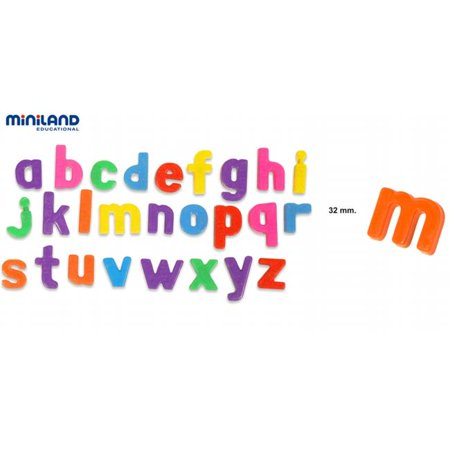 Magnetic Lowercase Letters (155 Pieces) - Plastic Magnetic Letters