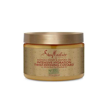 SheaMoisture Manuka Honey & Mafura Oil Twist-Defining Custard,12