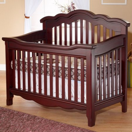 Lusso Nursery Ravenna Crib With Toddler Rail