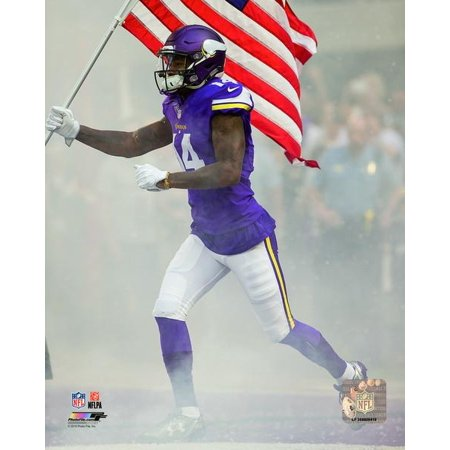 Stefon Diggs 2016 Action Photo Print